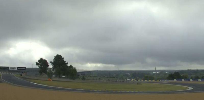negros nubarrones sobre el circuito Bugatti