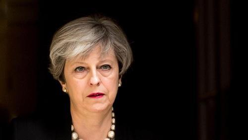 Le discours de Theresa May montre son étoffe de cheffe d'Etat. ©PhotoNews