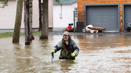 Dorval Island Flooding