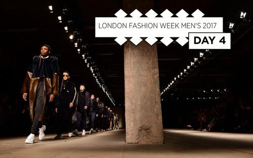 ca68ea9a025fbf London Fashion Week Men s June 2017  Live blog