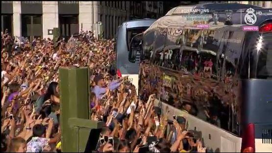 Salida del Real Madrid de la comunidad de Madrid