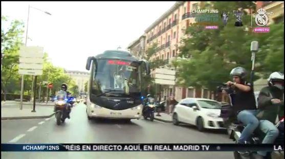 Bus del Real Madrid