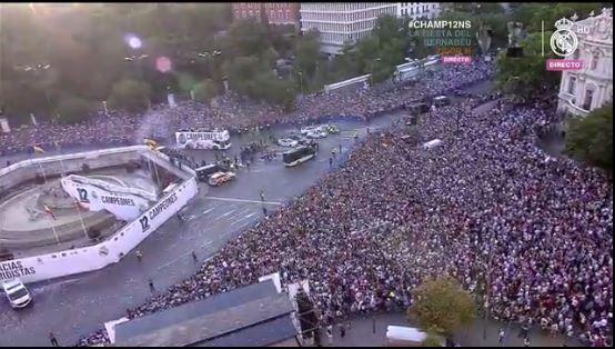 Continua la fiesta en Madrid