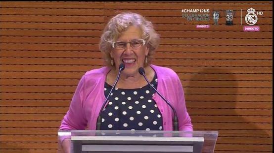 Manuena Carmena, alcaldesa de Madrid