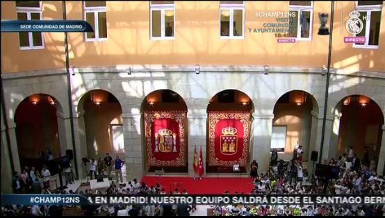 Todo listo en la Sede de la Comunidad de Madrid