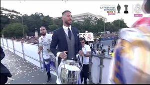 Ramos lleva la copa