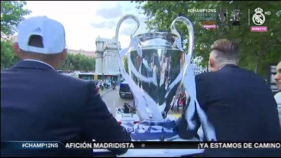 Continua el festejo del Real Madrid