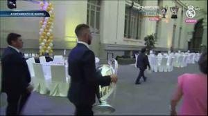 Ramos el encargado de llevar la copa