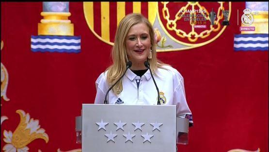 La presidenta da su discurso