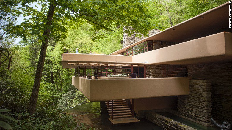 "the amazing house built by frank lloyd wright for the kauffman family ""overrated because it is frank lloyd wright this historic house was built for a pittsburgh family by the property owner was the kauffman family."