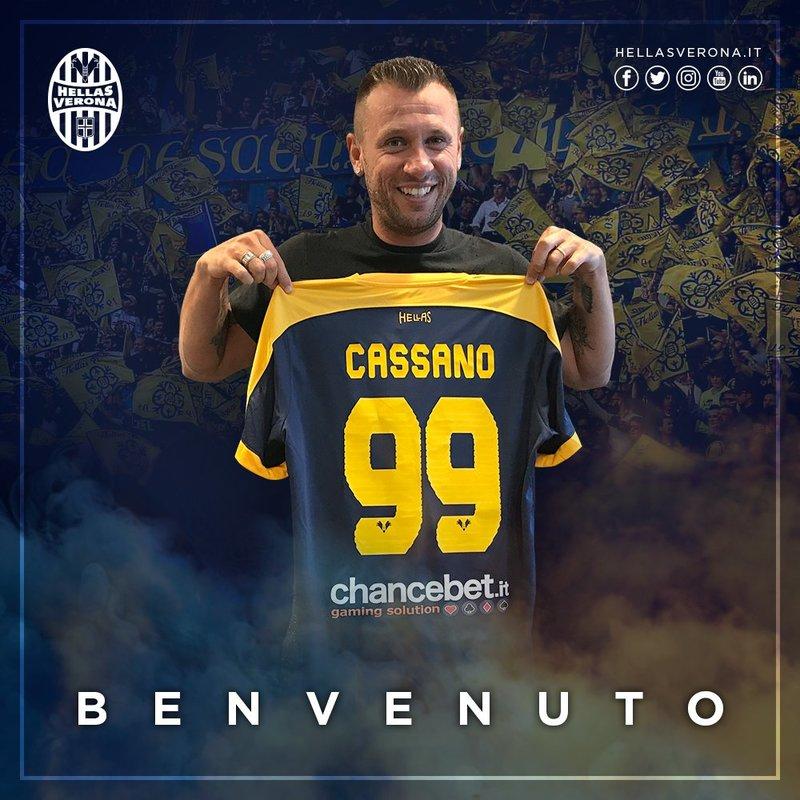 Cassano lucirá el dorsal 99