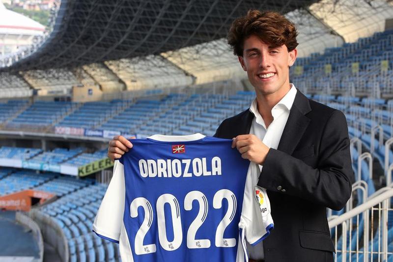 Odriozola, opción de futuro para el Real Madrid