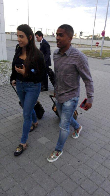 Douglas Costa, a su llegada a Turín @Juventus