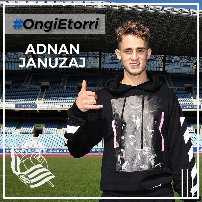Januzaj firma hasta junio de 2022