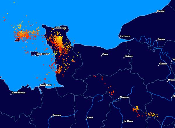 Orages Cinq Départements Du Sud Ouest Toujours En Alerte Orange