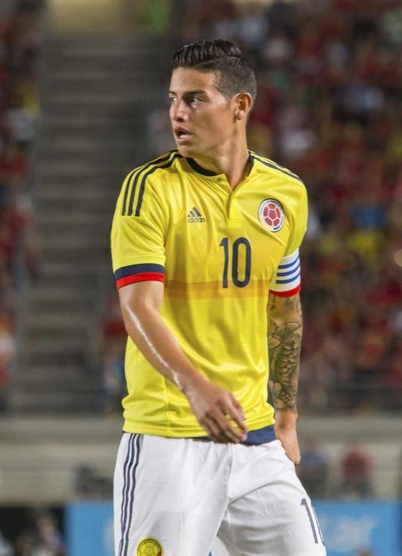 James Rodríguez solamente piensa en marcharse del Real Madrid