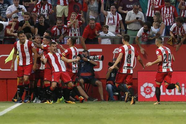 Resultado de imagen de girona 2 Atlético de madrid 2