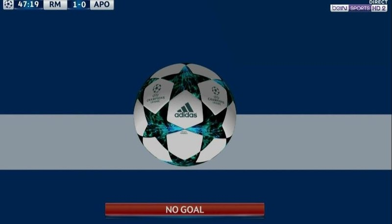 La tecnología demuestra que no hubo gol de Cristiano.