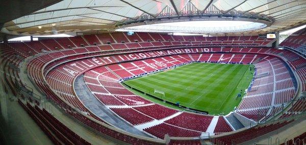 Wanda metropolitano el estreno del estadio del atl tico for Puertas wanda metropolitano