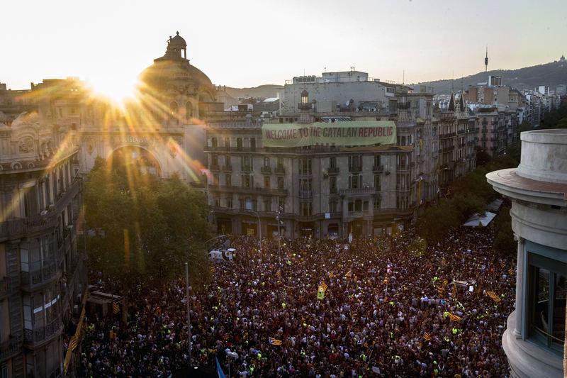 Rambla de Catalunya - Gran Via de les Corts Catalanes. Barcelona