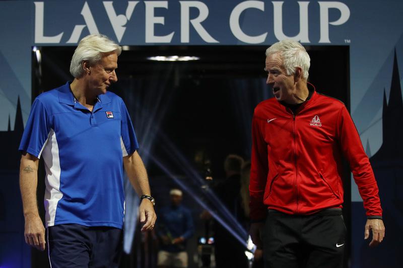 Borg y McEnroe, los capitanes