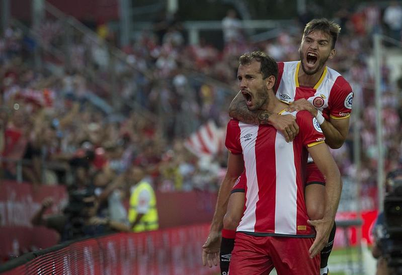 Stuani tiene la llave goleadora de este Girona