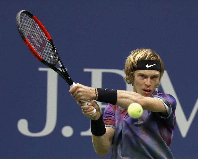 Andrey Rublev, 19 años y 53 del ranking mundial. Primer duelo contra su ídolo, Rafa Nadal