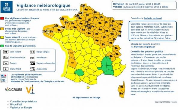 La tempête Eleanor fait trois morts en France