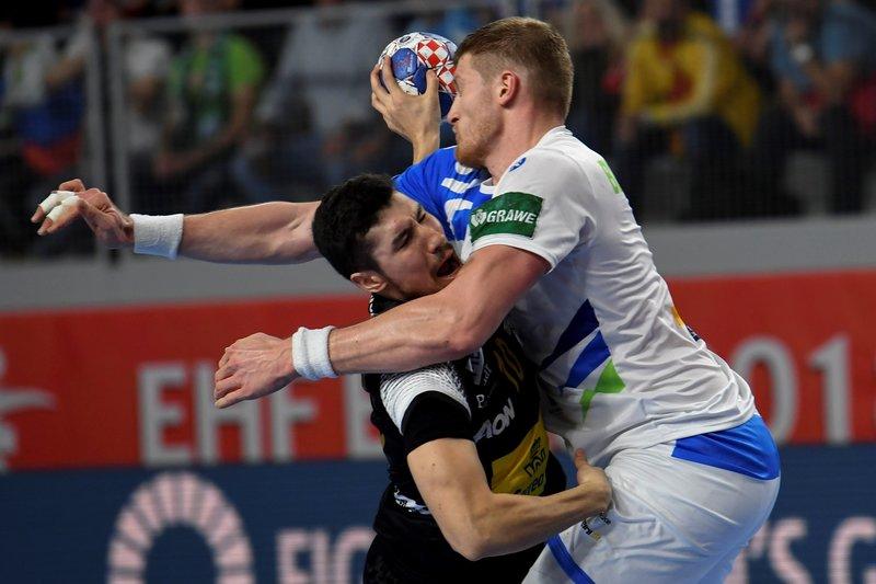 Álex Dujshebaev, contra Eslovenia (Efe)