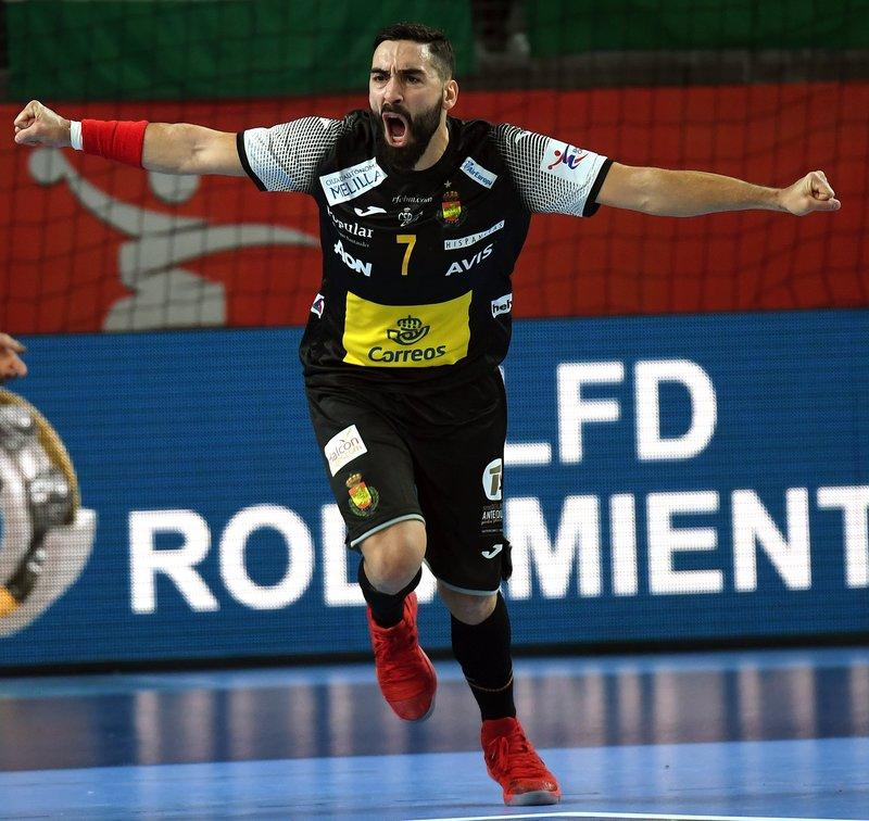 Valero ha marcado los tres primeros goles de España (Efe)