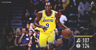 af272153980 Los Angeles Lakers  Lakers. Final from San Diego. McGee  17 pts (8 10 FG)