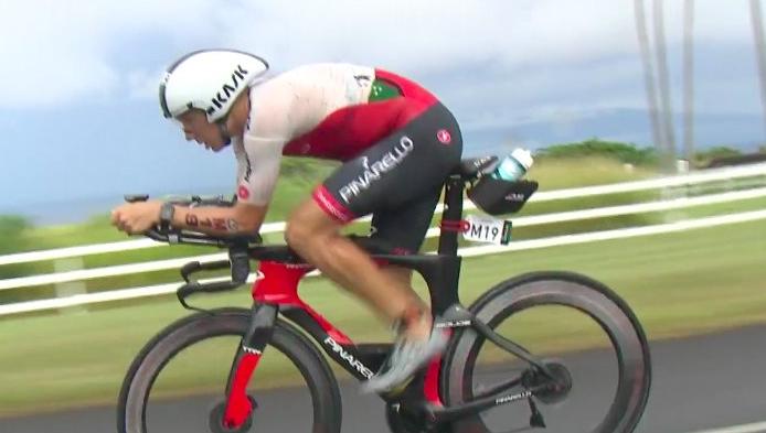 Cameron Wurf manda en el segmento de ciclismo (Twitter)
