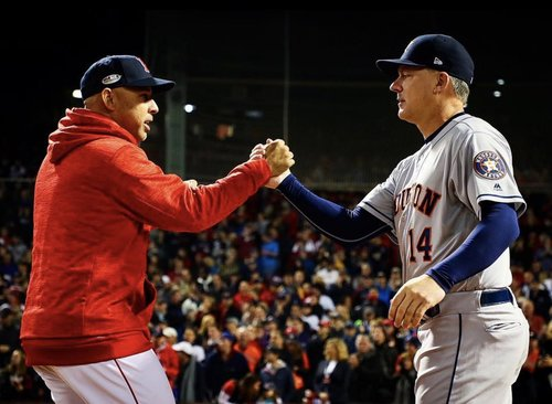 Astros vs  Red Sox