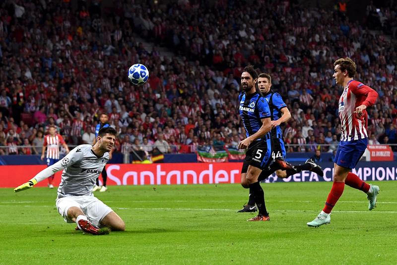 Así fue el gol de Griezmann que anuló el colegiado por un claro fuera de juego