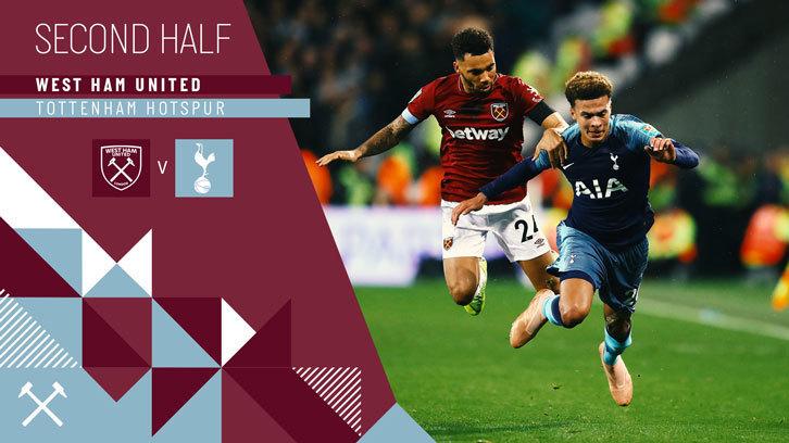 As it happened  West Ham United 1-3 Tottenham Hotspur  c29ed4a1a
