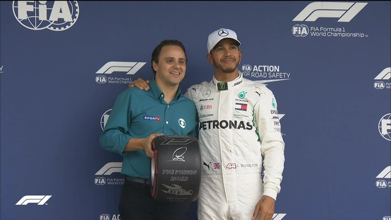F1: Lewis Hamilton marca a pole-position para o GP do Brasil