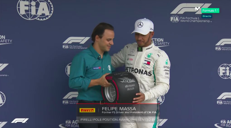 Hamilton y Massa.