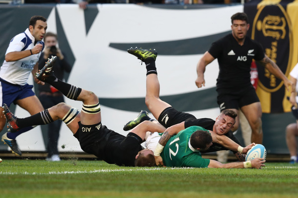 All Blacks vs Ireland Rugby