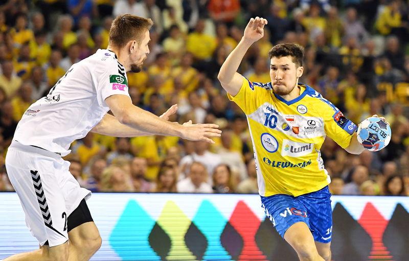 Álex Dujshebaev, máximo goleador y pieza clave del Kielce