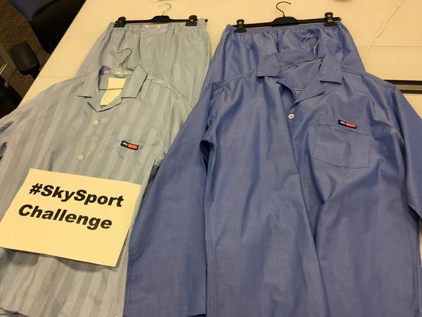 Pronti per la notte Nba con il pigiama SkySport: carichi!