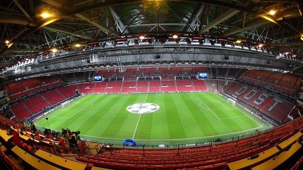 Y así luce el Philips Stadion por dentro FOTO: @LluisFlaquer