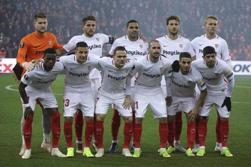 Este es el 'once' inicial hoy del Sevilla