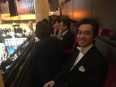 e43f69b98f71 Internationell media är också på plats. Naoto okishiro är journalist på  nyhetsbyrån Jiji press i Japan, utsänd från Tokyo för att bevaka  festligheterna.