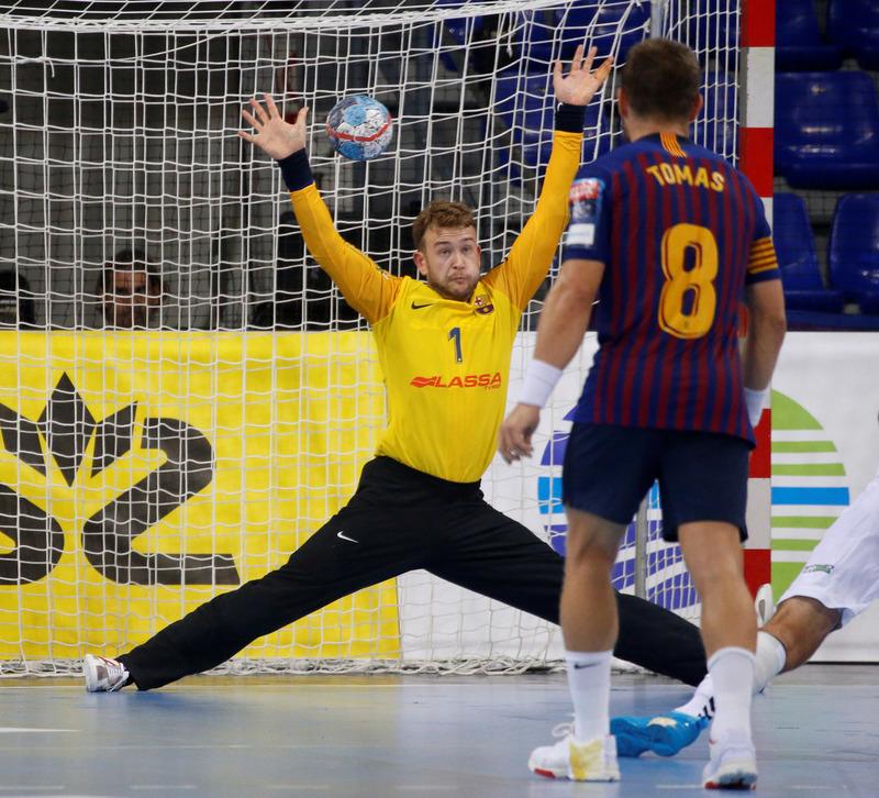 Gonzalo, portero del Barça