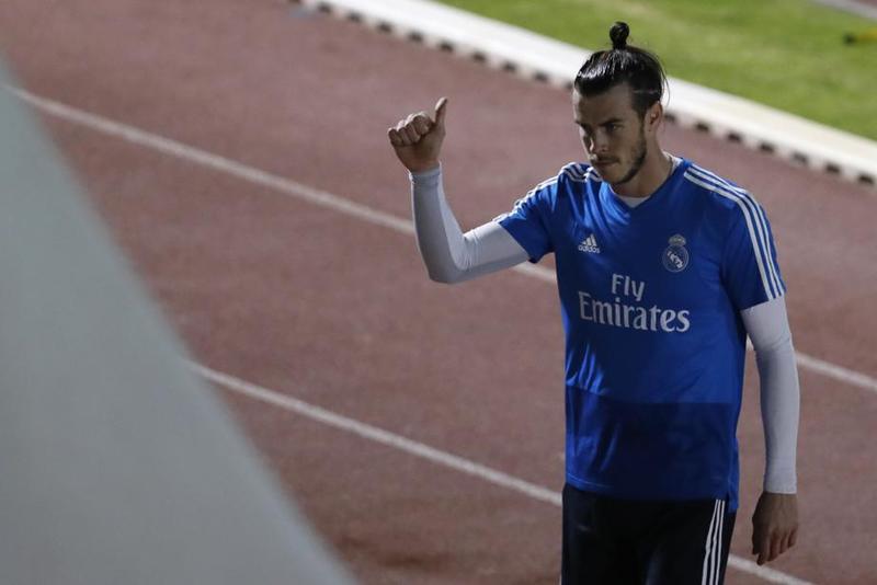 Bale acompañará a Benzema y Lucas en el tridente ofensivo madridista