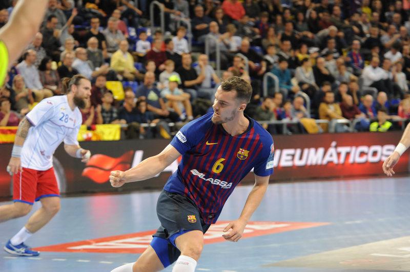 Mortensen celebra un gol al Brest (Joan Lanuza/MD)
