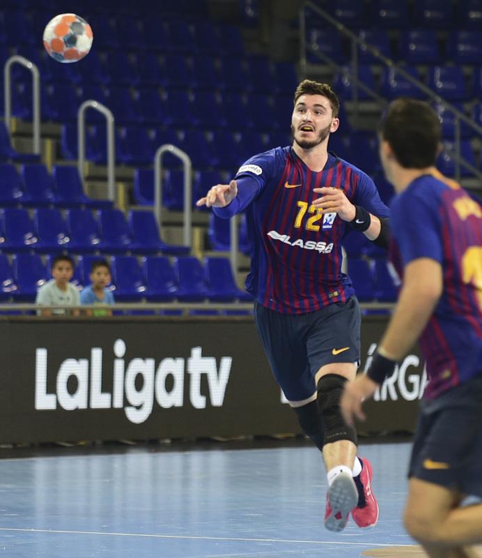 Ludovic Fàbregas, pivote del Barça