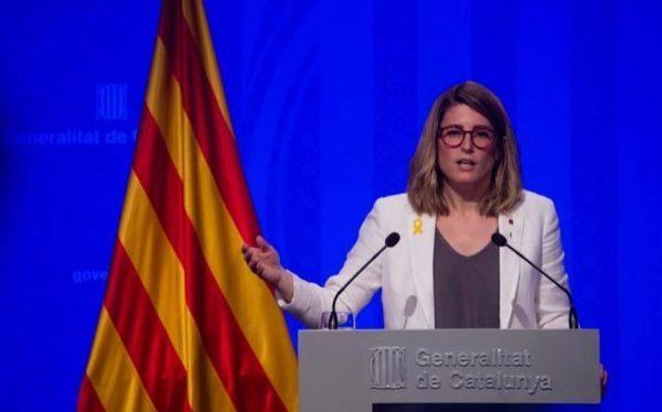 Elsa Atardi comparece ante los medios para valorar el 21D