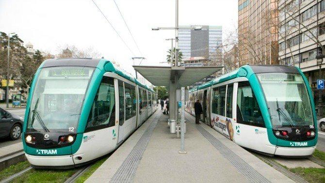 Normalizada la circulación de todas las líneas del Tram.