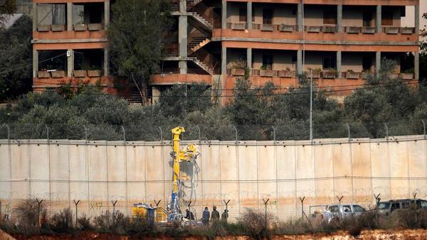 Israel targets Hezbollah border tunnels